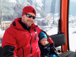 Ski holiday in Austria (Farmor was present, Gran missed out...)
