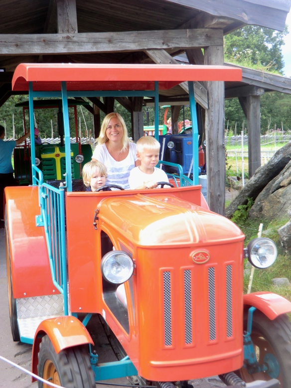 Tractor rides came in a close second to train rides.